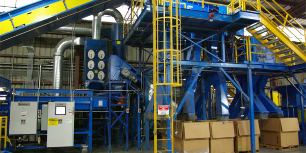 e-Waste Recycling Equipment | CP Manufacturing