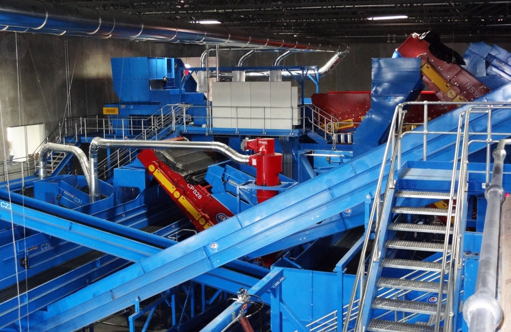 CP Group Installs 25TPH MRF for ReCommunity