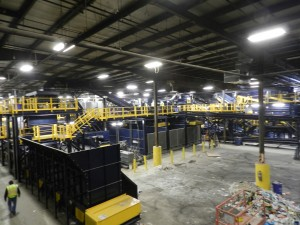 Burlington County celebrates  grand opening of new single-stream recycling system